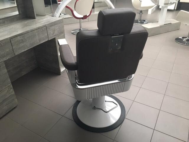 Sedia poltrona barbiere originale epoca vintage anni design
