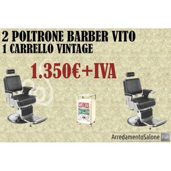 Promo offerta sconto black friday poltrone barbiere barber shop
