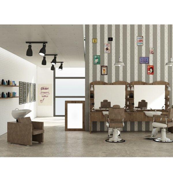arredamento per barbieri e barber shop
