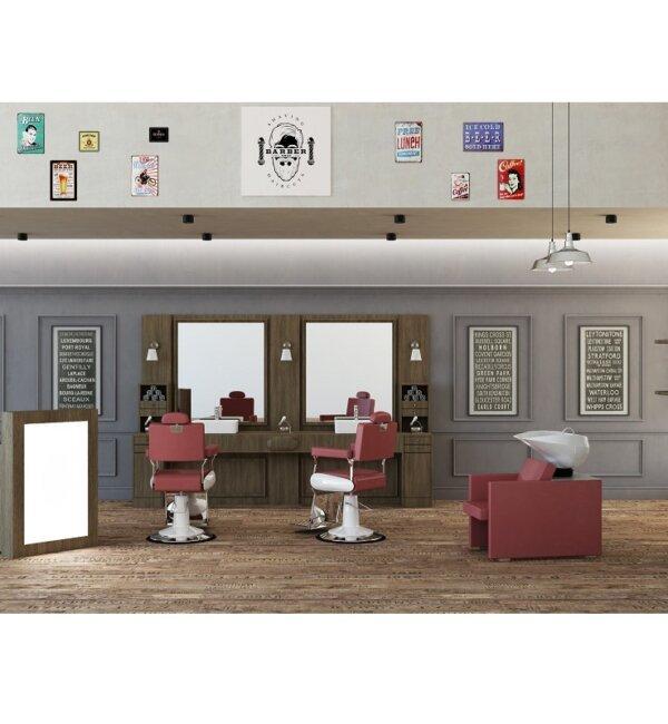 arredamento per barbieri e barber shop poltrona da barbiere