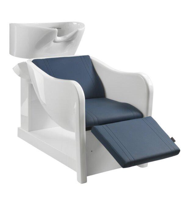 Lavaggio per parrucchieri con alza gambe di fascia alta Curve 9806 Relax