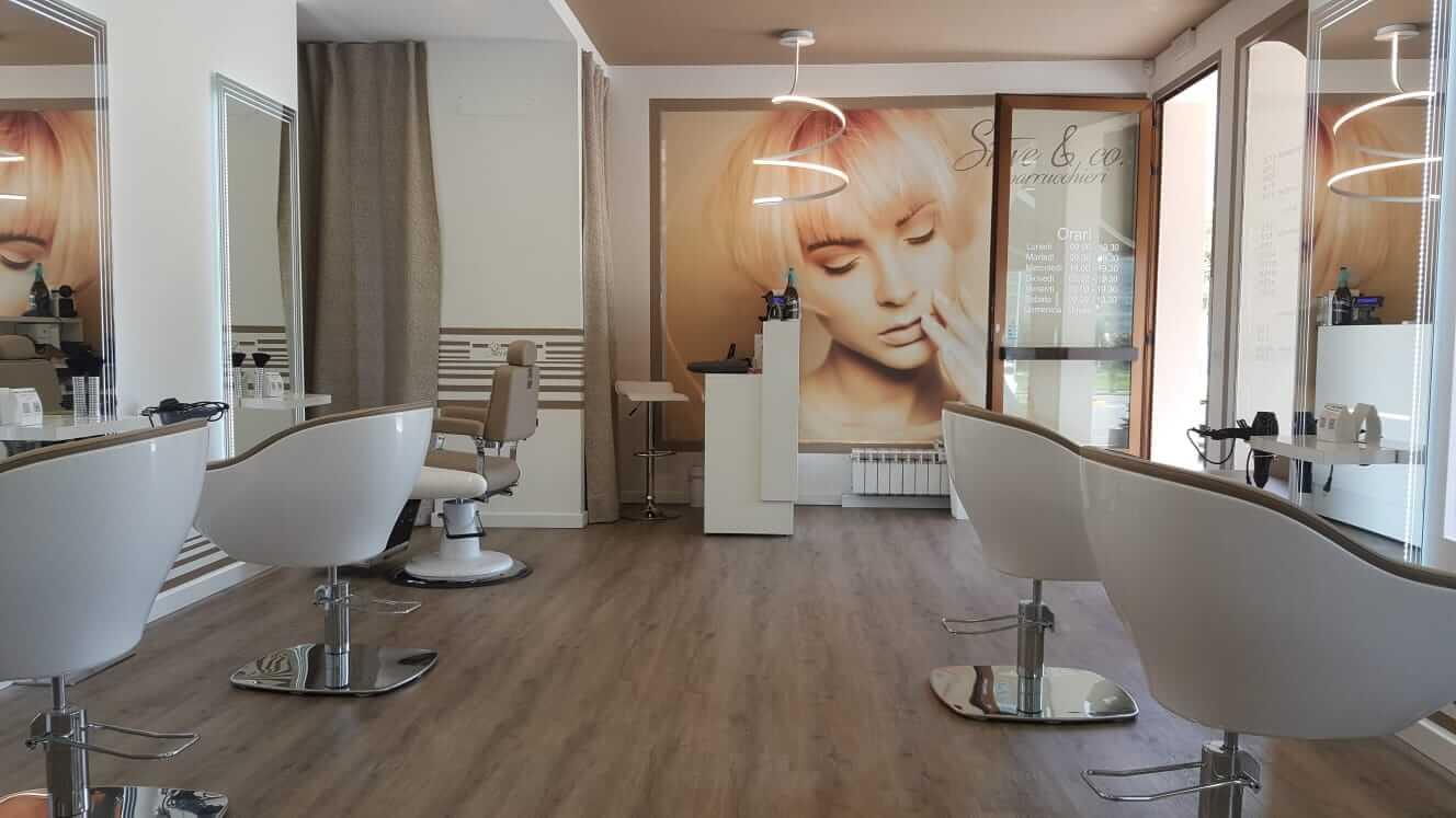 arredamento parrucchieri di design Fab