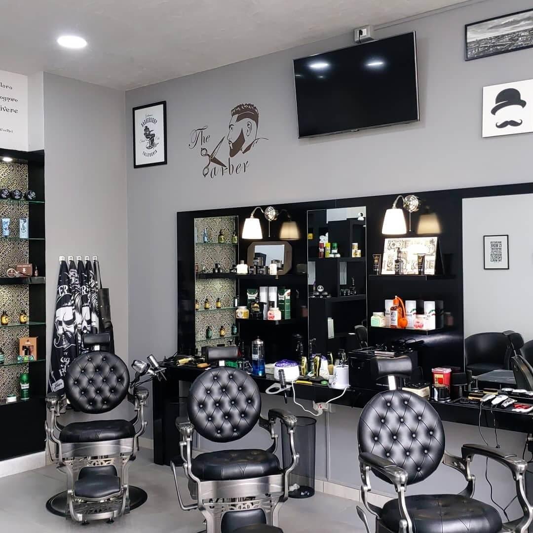 poltrona barber vintage per barber shop