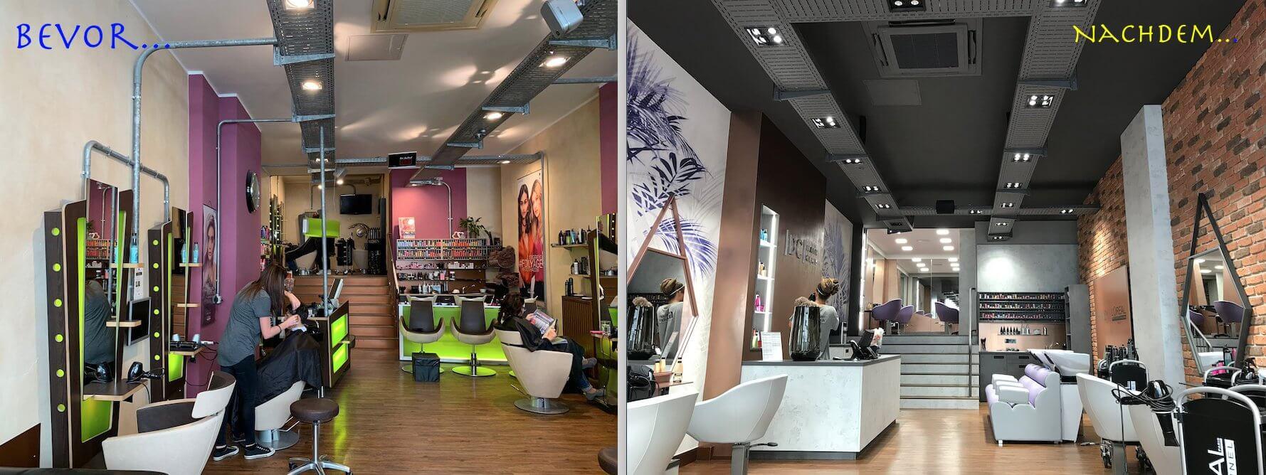 arredamento parrucchieri rinnovo salone